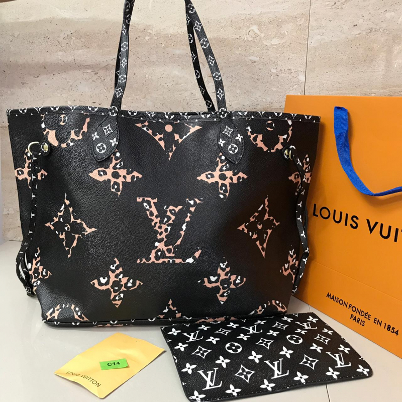 Bolso Louis Vuitton Neverfull  Piel