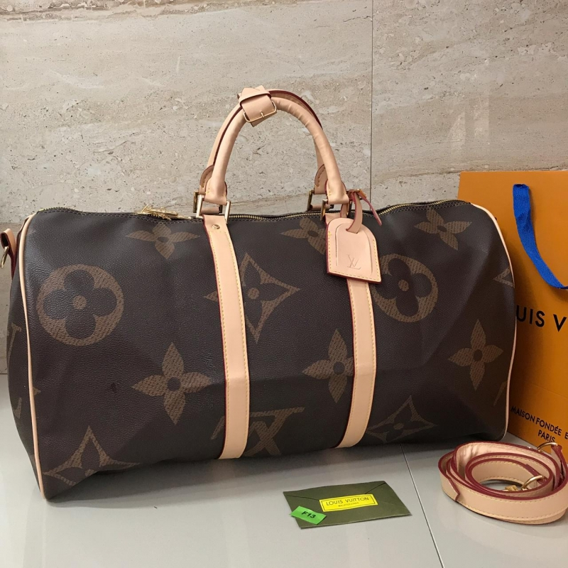 keepall 45 louis vuitton 100% piel